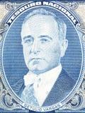 Getulio Dornelles Vargas portrait Royalty Free Stock Images