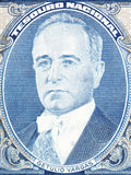 Getulio Dornelles Vargas stående royaltyfria bilder