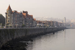 Getxo nel paese basco Fotografie Stock Libere da Diritti
