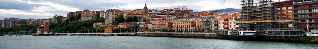 Getxo panorama Stock Photography