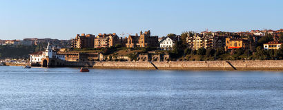 Getxo residential area Stock Images