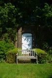 Geummauerter Garten Stockfotografie