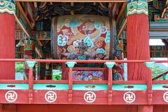 Geumsansa tempelvals Arkivfoton
