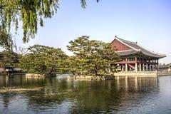 Geunjeongjeon Hall, Seoul, Korea Stock Images