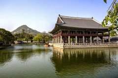 Geunjeongjeon Hall, Seoul, Korea Stock Image