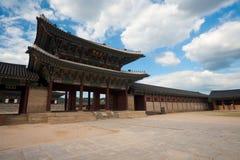 Geunjeongmun Gate Gyeongbokgung Royalty Free Stock Image