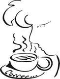 Geur van koffie Royalty-vrije Stock Fotografie