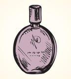 Geurig parfum Vector illustratie stock illustratie