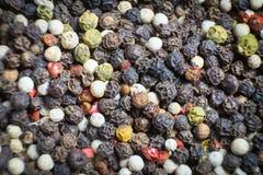Geurig peper gefotografeerd close-up Een veelzijdige specerij bij om het even welke maaltijd stock foto's