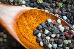 Geurig peper gefotografeerd close-up Een veelzijdige specerij bij om het even welke maaltijd royalty-vrije stock afbeelding