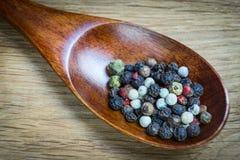 Geurig peper gefotografeerd close-up Een veelzijdige specerij bij om het even welke maaltijd stock foto