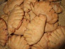 Geurige eigengemaakte koekjes Verse heerlijke eigengemaakte cakes stock afbeelding