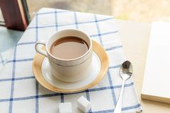 geurige koffie stock foto