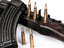 gevär för 47 ak royaltyfri fotografi