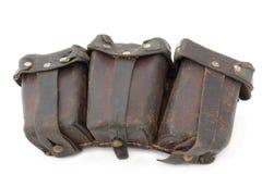 gevär för mauser för ammunitionpåse tyskt till royaltyfri foto