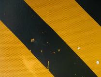 Gevaar/waarschuwingssein Stock Afbeelding