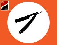 Gevaarlijk scheermes voor het scheren vector illustratie