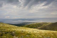 Gevaarlijke bergen Royalty-vrije Stock Foto
