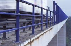 Gevaarlijke brug Royalty-vrije Stock Afbeelding