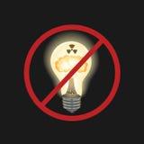 Gevaarlijke energiebron Stock Afbeelding