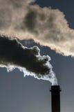 Gevaarlijke giftige wolken stock afbeelding