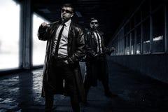 Gangsters Royalty-vrije Stock Afbeelding