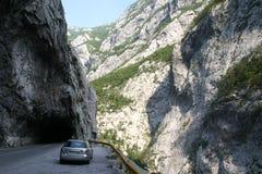 Gevaarlijke weg stock foto's