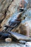 Gevaarlijke weg Stock Fotografie