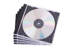 Geval DVD Stock Afbeeldingen