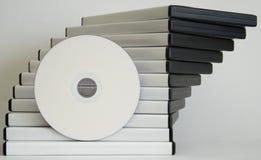 Gevallen DVD royalty-vrije stock afbeelding