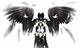 Gevallen engel Stock Afbeelding
