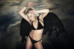 Gevallen engel stock foto