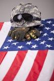 Gevallen militair stock afbeeldingen