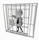 Gevangen gezet Stock Afbeelding