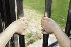 Gevangene royalty-vrije stock afbeelding