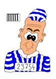 Gevangene Royalty-vrije Illustratie
