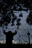 Gevangengenomen Stock Foto