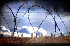 In gevangenis Royalty-vrije Stock Afbeelding