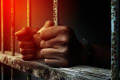 gevangenis royalty-vrije stock fotografie