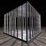 Gevangenis - de cel van de Gevangenis Stock Foto's