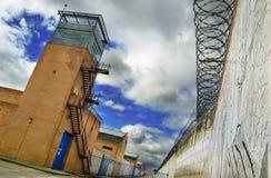 De toren van de gevangenis stock afbeelding