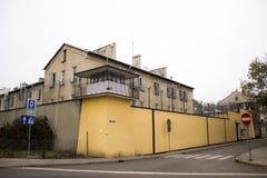 Gevangenis in Przemysl Stock Foto