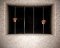 Gevangenisbars royalty-vrije stock afbeeldingen