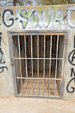 Gevangenisbars Royalty-vrije Stock Foto