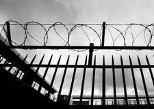 Gevangenisscène Stock Foto