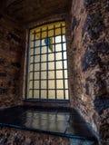 Gevangenisvenster Royalty-vrije Stock Afbeeldingen