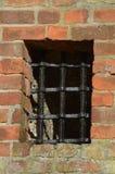 Gevangenisvenster stock foto's