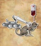 Gevechts internationaal terrorisme Royalty-vrije Stock Afbeelding