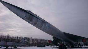Gevechtshelikopters van Rusland op de straten bij het Museum van Monino stock foto's