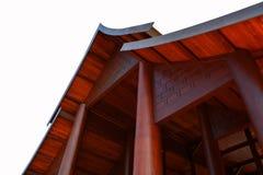 Geveltop en dak stock afbeeldingen